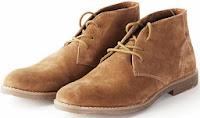 мужские замшевые ботинки со шнуровкой
