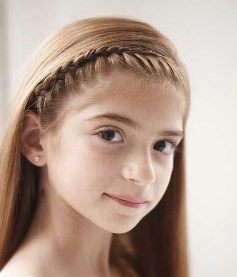Gaya Rambut Anak Sekolah Terbaru Dan Rapi