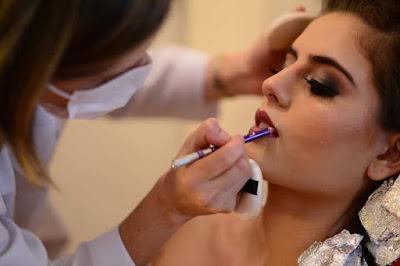 carka okamoto, dia da noiva, maquiagem, airbrush