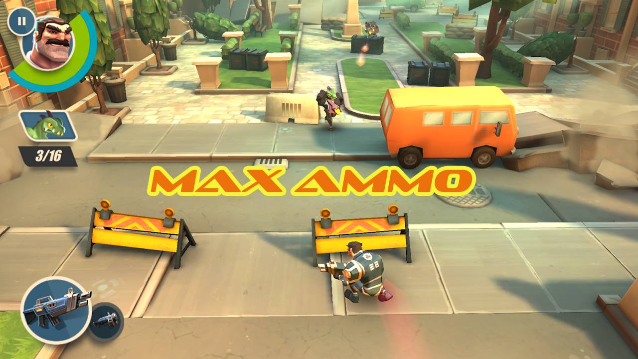 Max Ammo Gameplay IOS/ Android