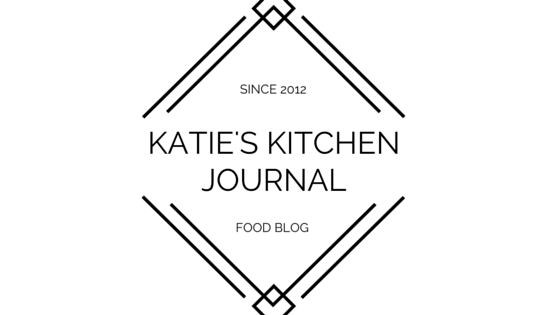 katie's kitchen journal