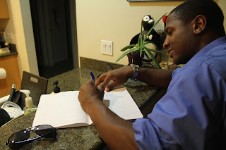 "Dundeal Entertainment Artist J-Shep Writing to his debut single ""I promise this"""