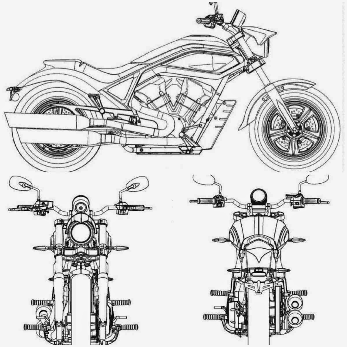 The Motorcycle Obsession Vw Bus Engine Diagram With Wheelie Bar Design By Salvador Gonzalez