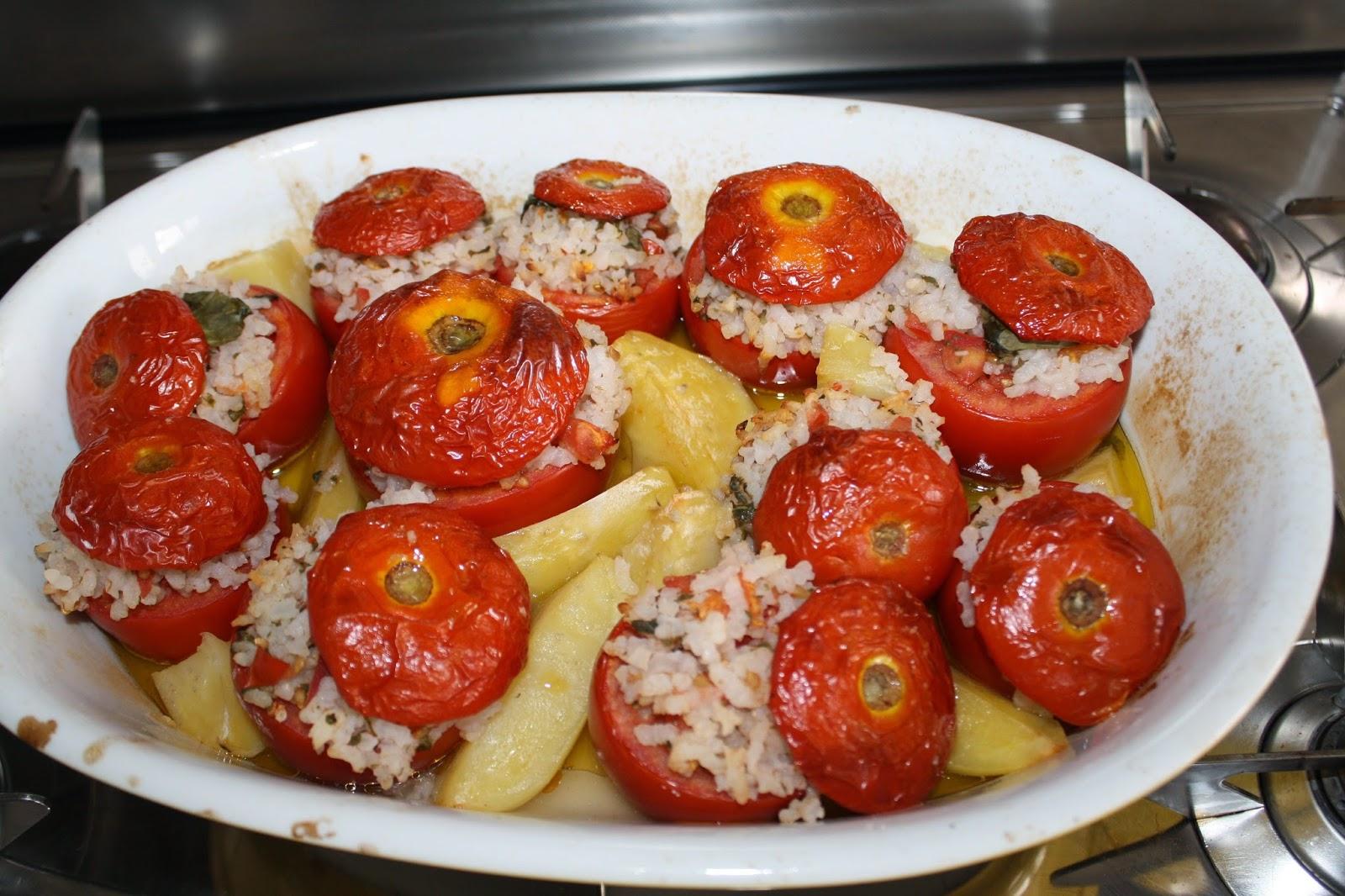pomodori ripieni riso alla romana