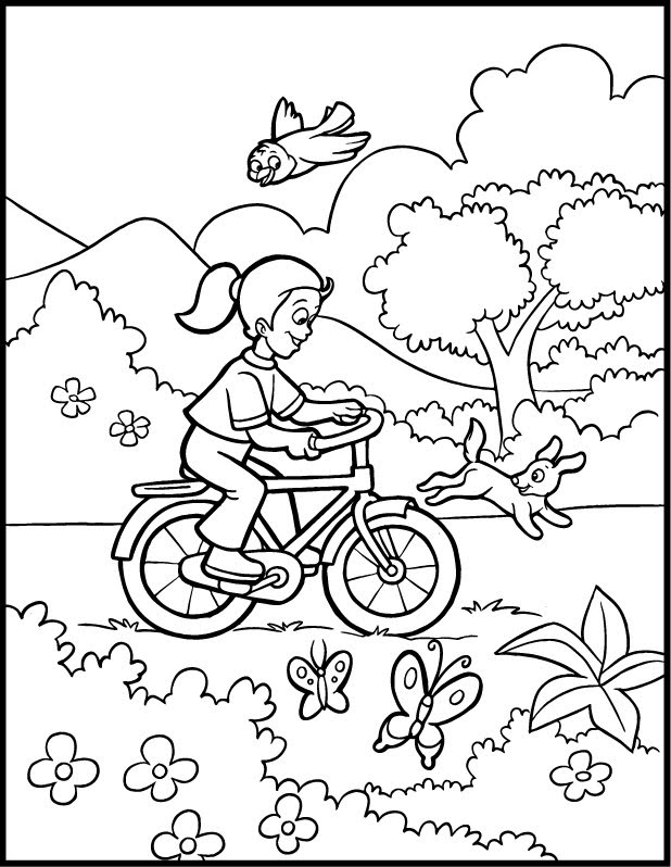 spring printable coloring pages - photo#29