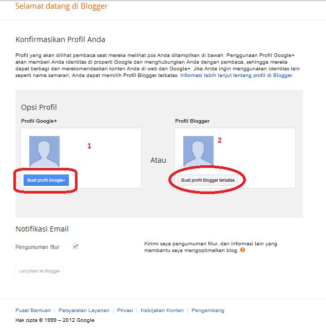 Membuat Profil Google +