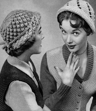 Knitting Patterns Free Vintage : Mighty Distractible: Designing Your Own