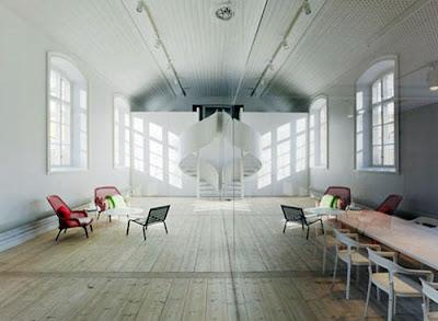 gambar desain ruang kantor minimalis 3