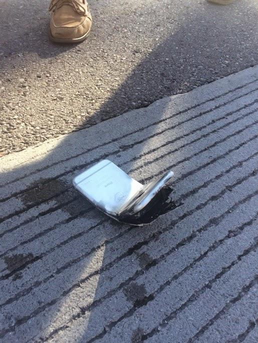 iPhone 6 bị uốn cong và bốc cháy