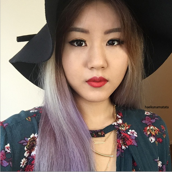 Pravana Violet faded lavender purple dye