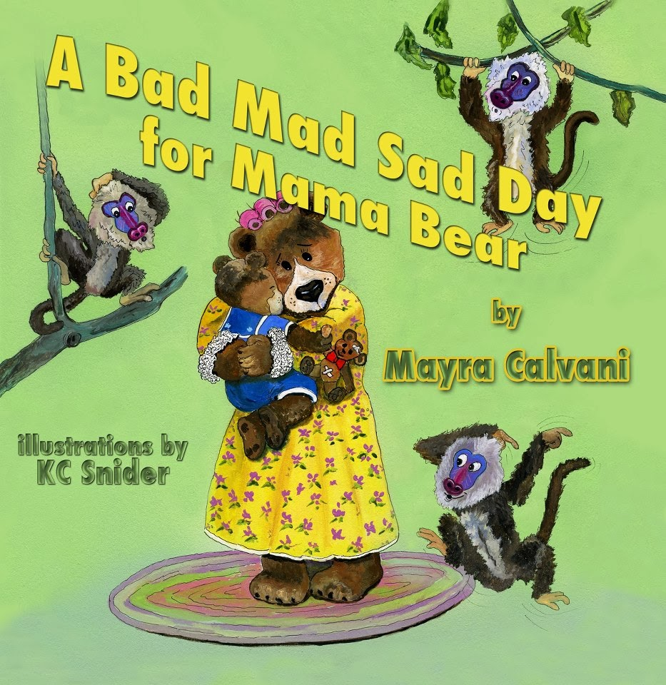 Book Giveaway - A Bad Mad Sad Day for Mamma Bear