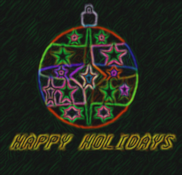 HOLIDAY GREETINGS FROM  STAR NEBULA NUTS111