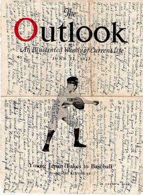 The Outlook Magazine, 1927, used as stationery