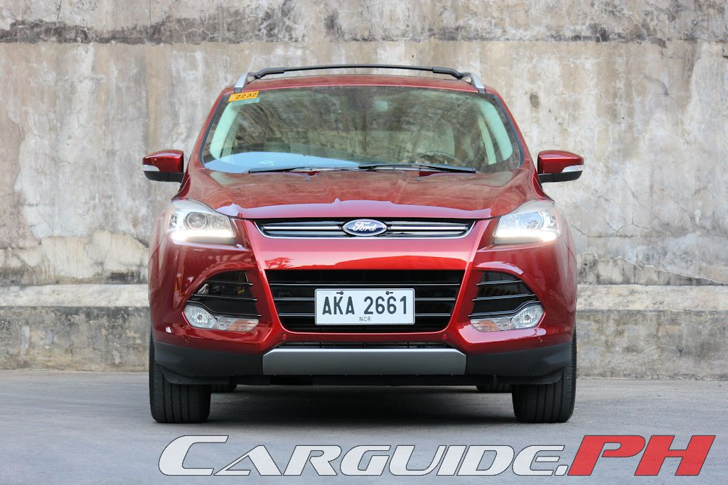 Review 2015 Ford Escape 20 EcoBoost Titanium AWD  CarGuidePH