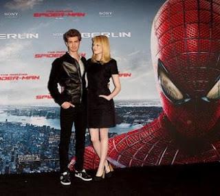 """Entrevista Coletiva Andrew Garfield e Emma Stone, de """"O Espetacular Homem-Aranha"""""""