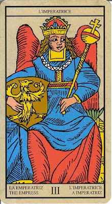 Arcanos mayores 3 La Emperatriz