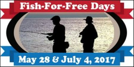 5-28 PA Fish For Free Day