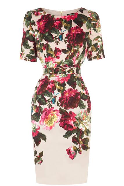 floral oasis dress
