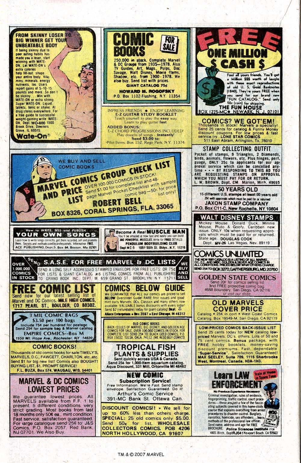 Captain America (1968) Issue #260 #175 - English 22