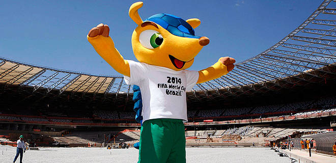 Fuleco jadi Nama Maskot Piala Dunia 2014 Brazil