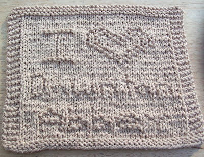 Downton Abbey Knitting Patterns : DigKnitty Designs: I Heart Downton Abbey Knit Dishcloth Pattern