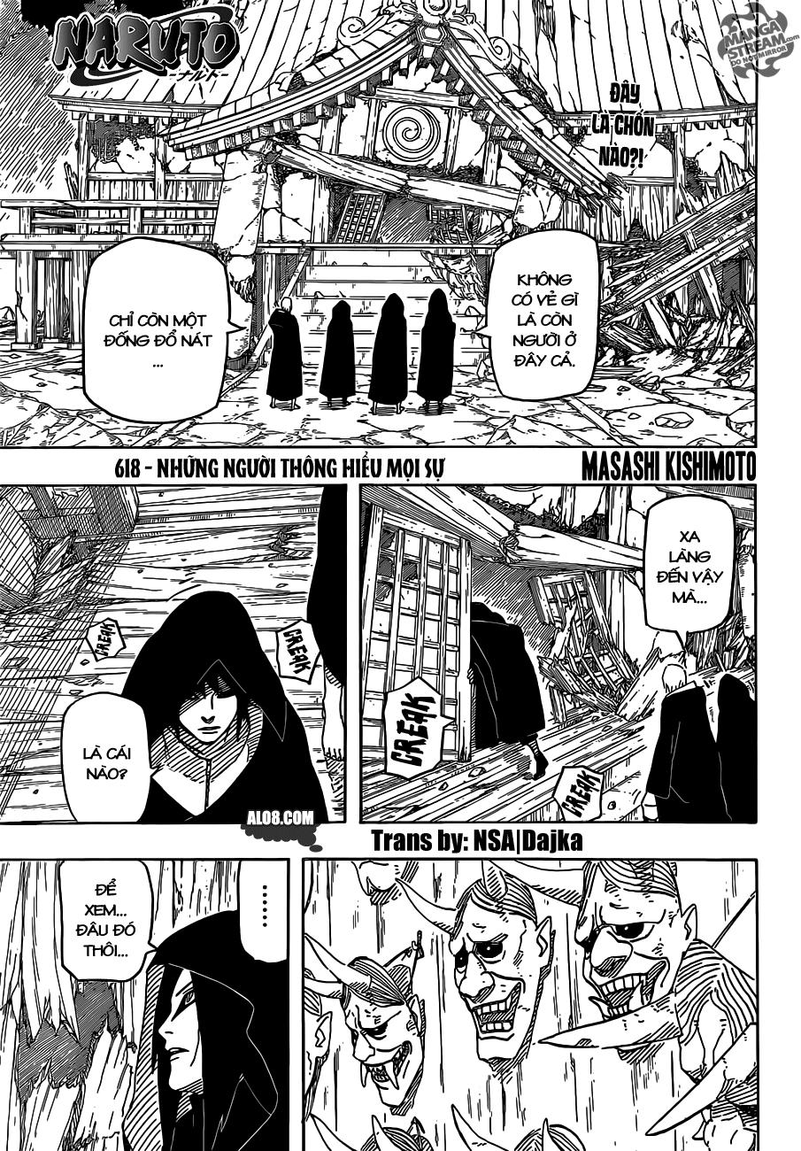Naruto chap 618 Trang 1 - Mangak.info