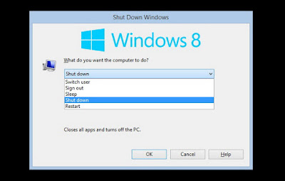 Cara Cepat Mematikan Komputer Windows 8 Dengan keyboard
