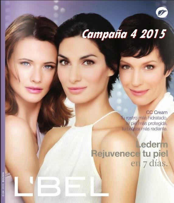 Catalogo 4 de 2015 Lbel Bolivia
