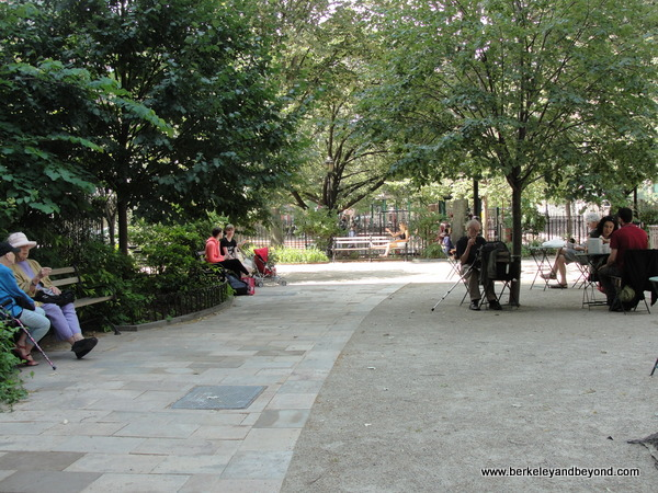 Bleecker Playground park in NYC