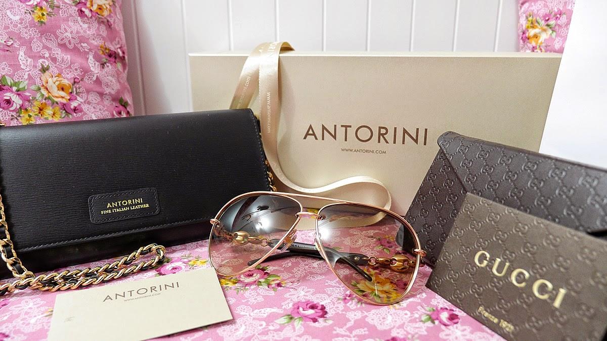 Luxusní nákupy GUCCI, ANTORINI, Daury Cartier