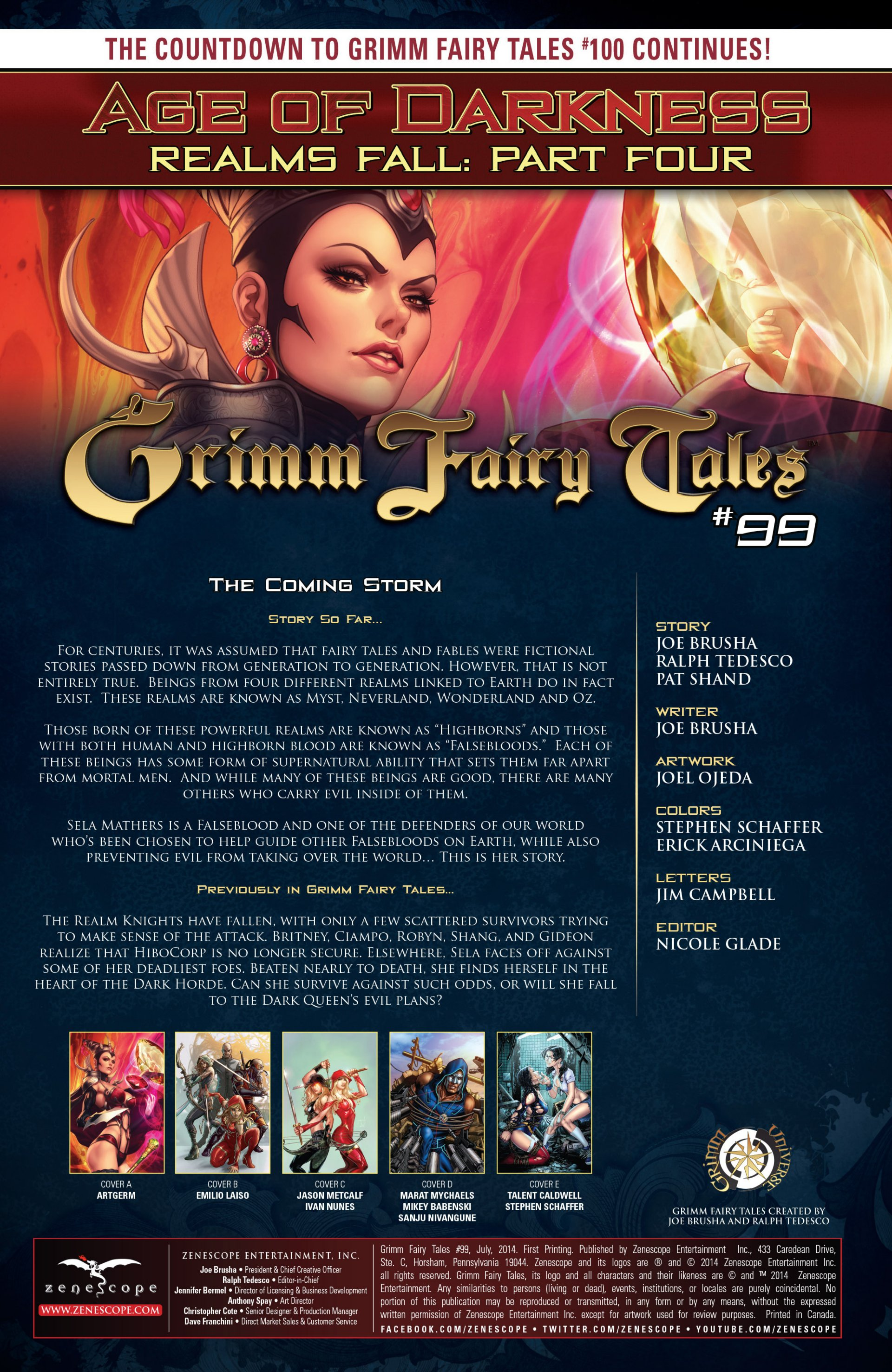 Grimm Fairy Tales (2005) Issue #99 #102 - English 2