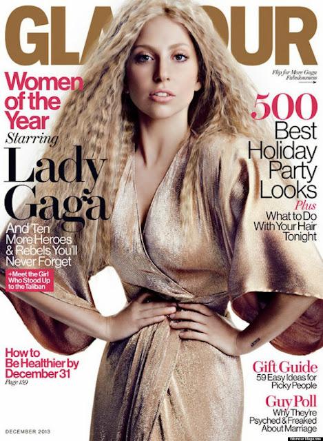 Lady Gaga, Glamour magazine,