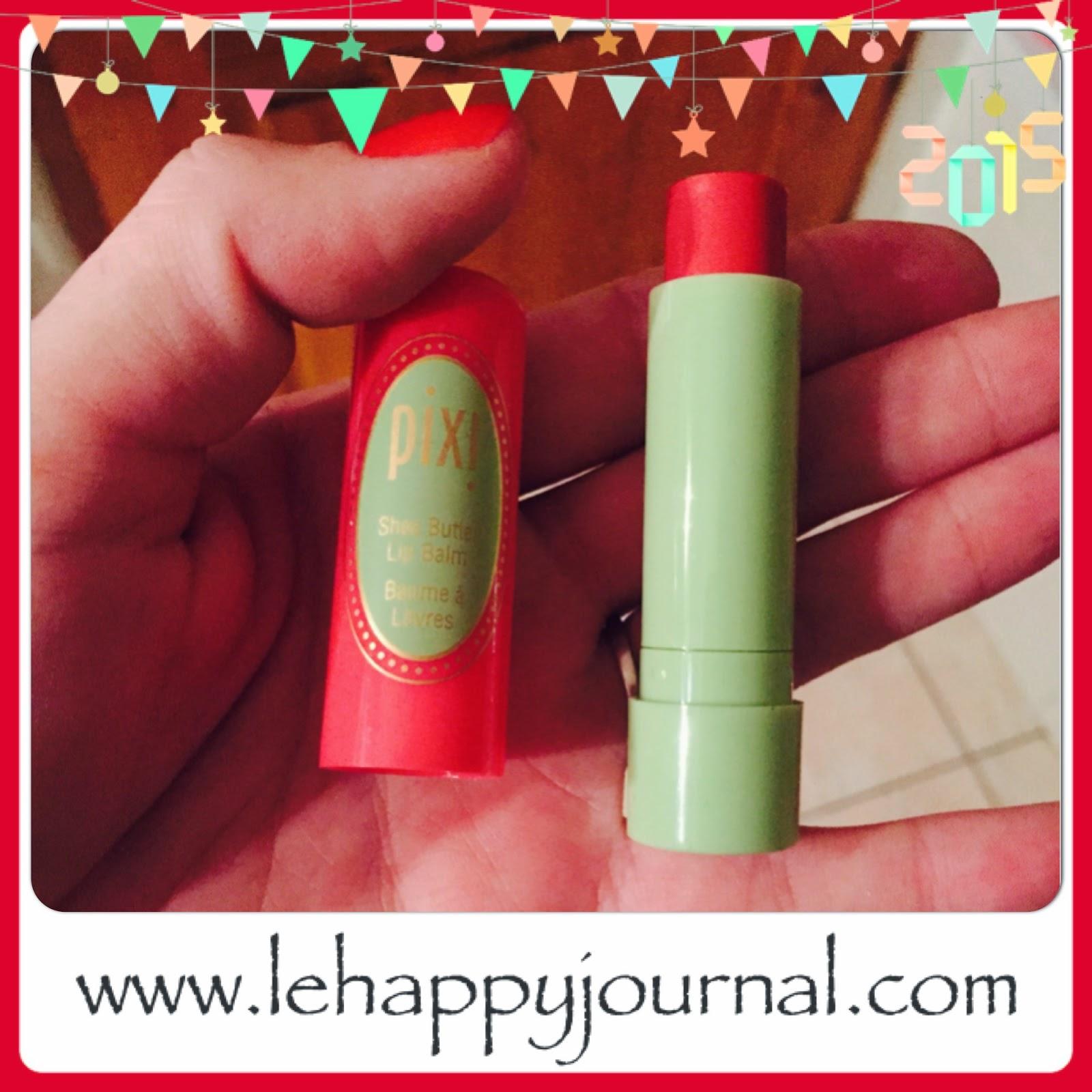 rotation, beauté, produits, semaine 1, revue, blogueuse beauté, opinion, avis, test, happy journal, baume, pixi, gloss, rouge a levres