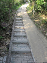 A few steps.