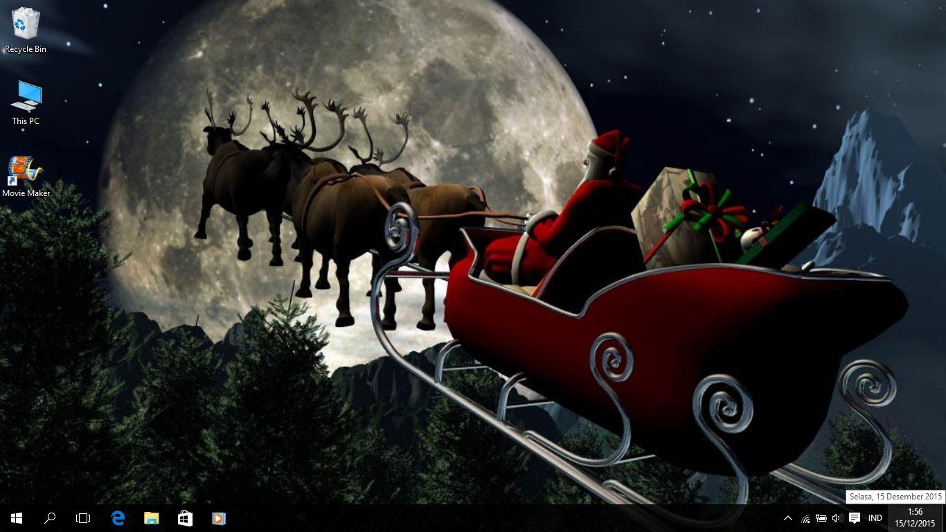 Christmas Theme For Windows 7/8/8.1 and 10 - Save Themes