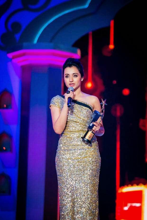 Trisha At SIIMA Awards 2014