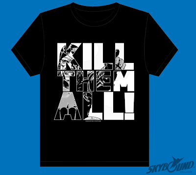 "San Diego Comic-Con 2012 Exclusive The Governor ""Kill Them All!"" The Walking Dead T-Shirt"