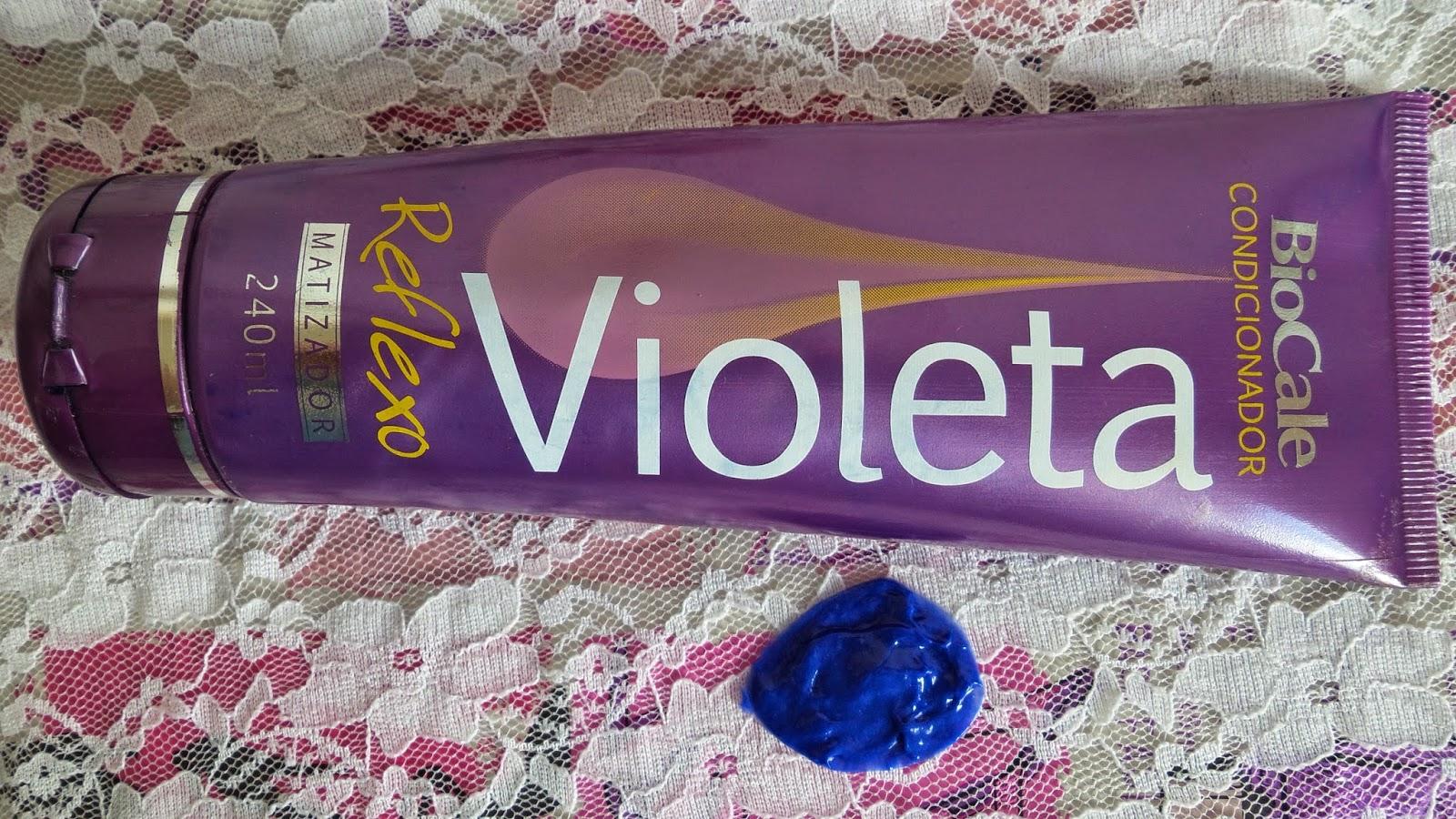 Condicionador Matizador Violeta da Biocale
