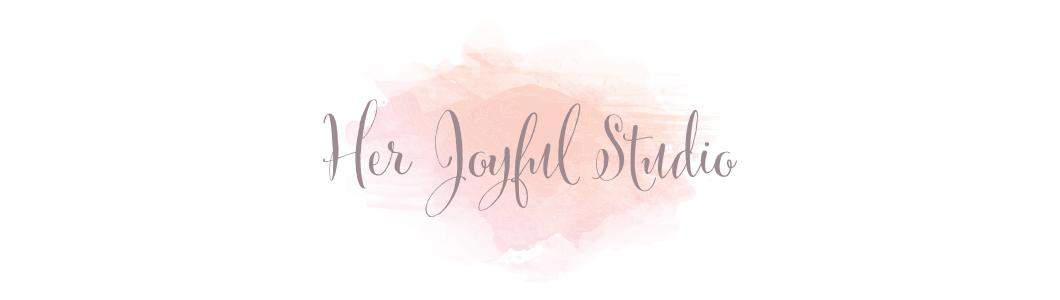 her joyful studio