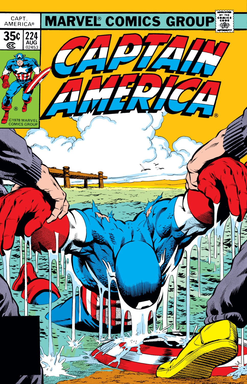 Captain America (1968) Issue #224 #138 - English 1