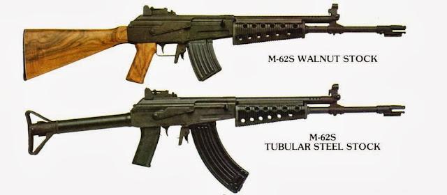 Fusil de asalto: Valmet M-60/Rk. 62/76/95 (Finlandia)