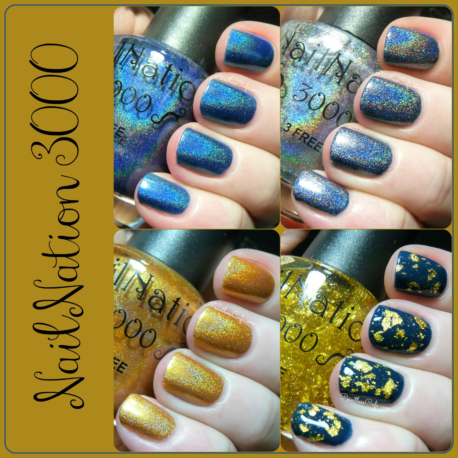 NailNation 3000: Limited Edition Polishes - Swatches and Review Part ...