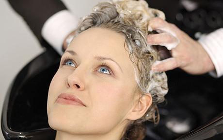Волосы мыть с солью