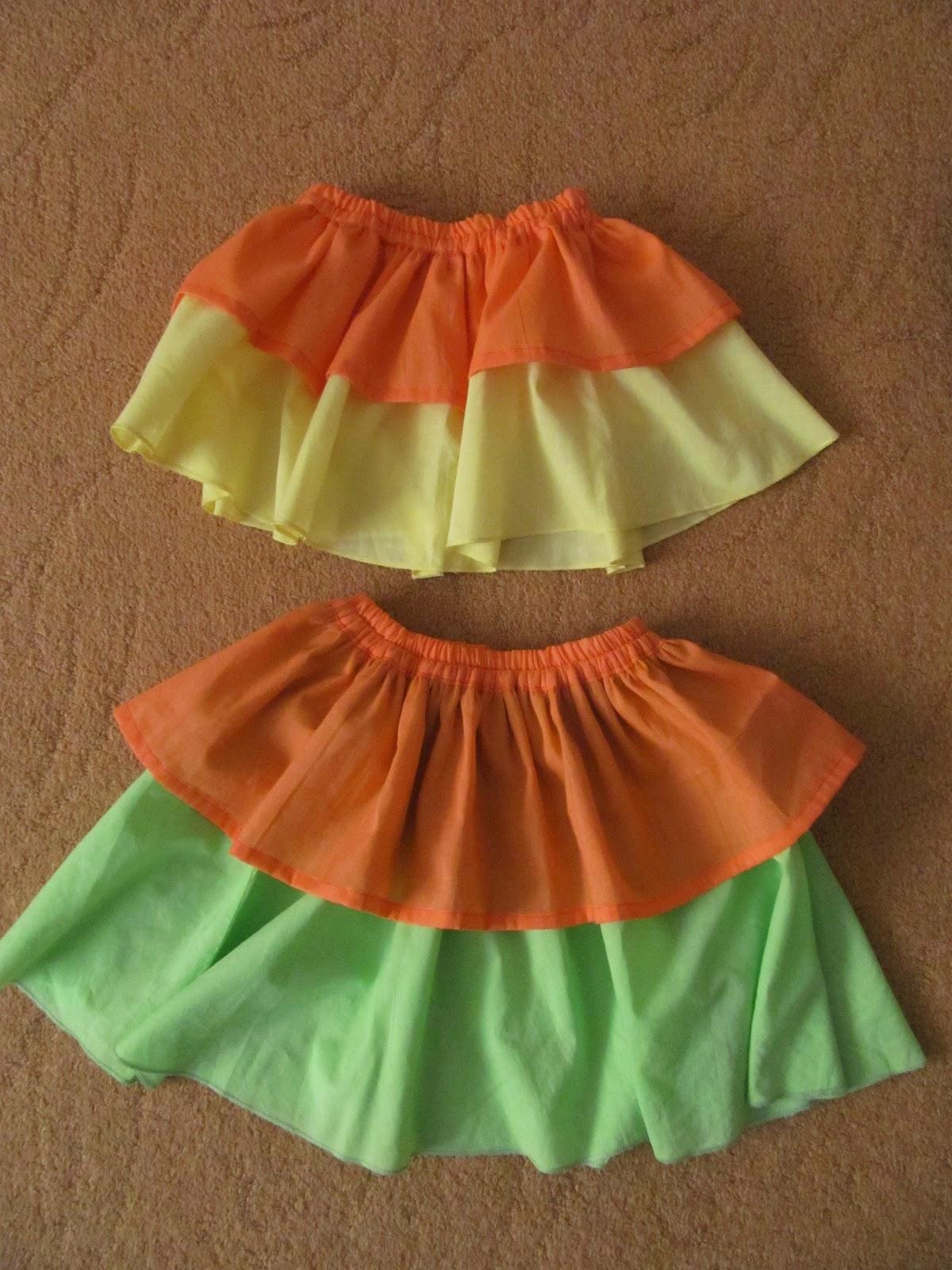 Сшить юбку для девочки своими руками без выкройки 433