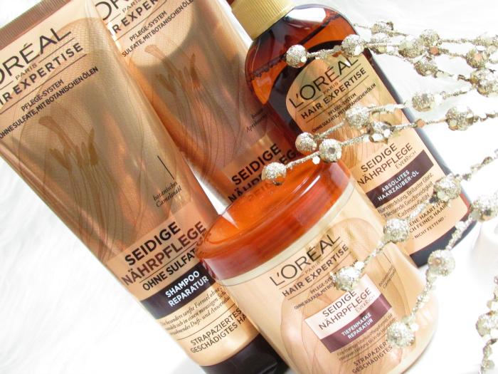 L´Oréal Paris - Hair Expertise Seidige Nährpflege ohne Sulfate  - Review