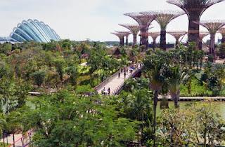 Gardens by The Bay Replika Alam Paling Menakjubkan