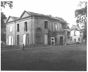 Paulsgrove House during demolition