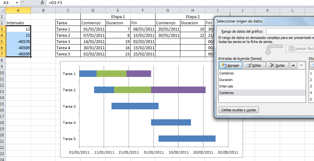 Download Gantt Chart Template Excel