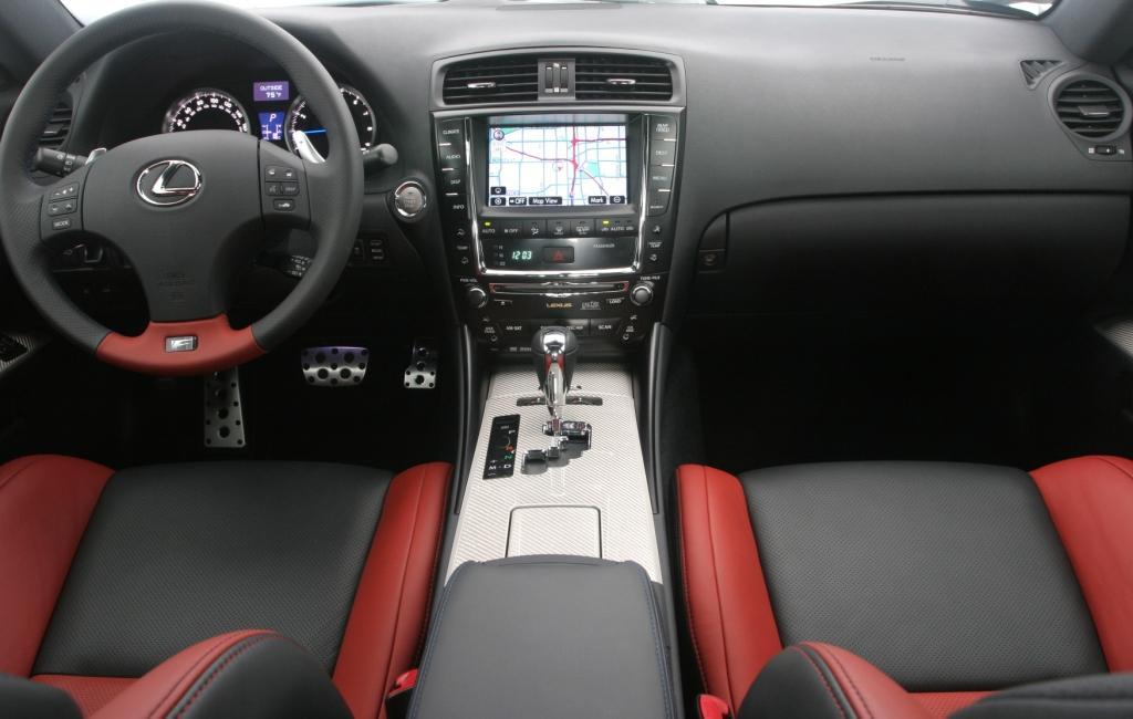 New Car Design 2011 Lexus IS F Sport Sedan