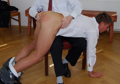 Teen boys spanked otk